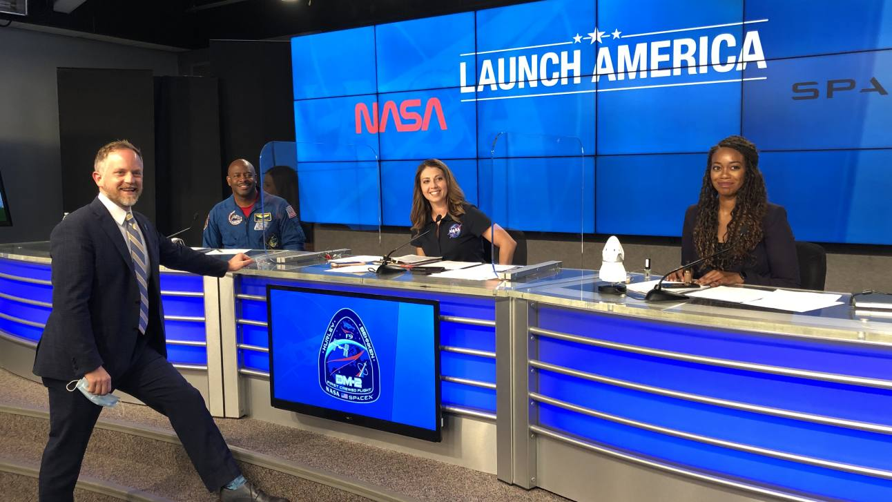 Behind the scenes at Launch America